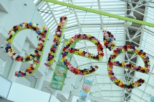 A warm welcome at Glee 2014