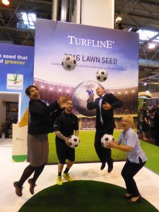 Johnsons Lawn Seed keepy-ups!