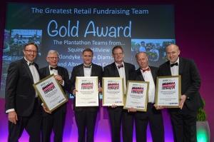 The Greatest GGRLD fundraising team winners